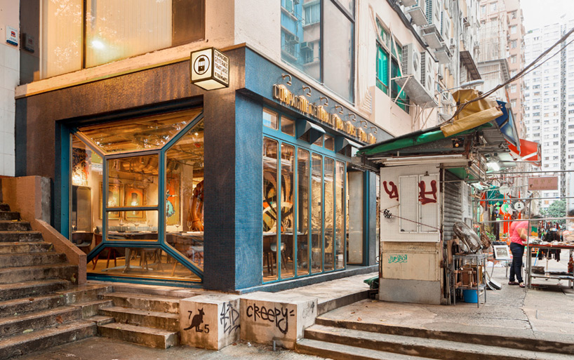 bibo street art restaurant substance hong kong designboom