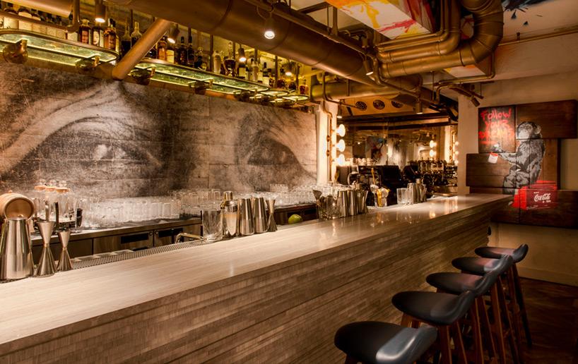 bibo street art restaurant substance hong kong designboom