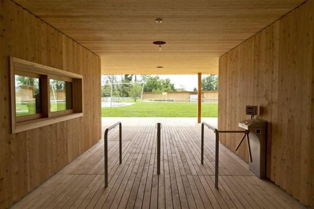 Herzog de Meuron Naturbad riehen designboom