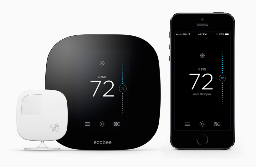 Ecobee3 Smart Thermostat Connects The Home With Wireless