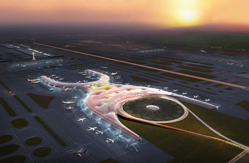 FR-EE & foster + partners to design a new airport for mexico city
