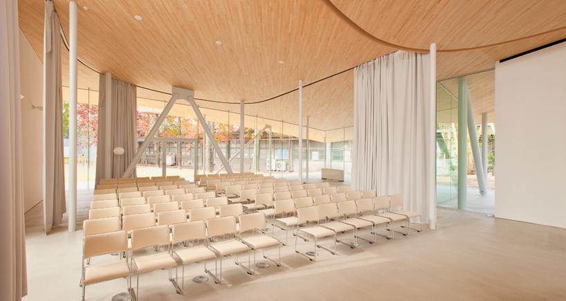 SANAA junko fukutake hall okayama university designboom
