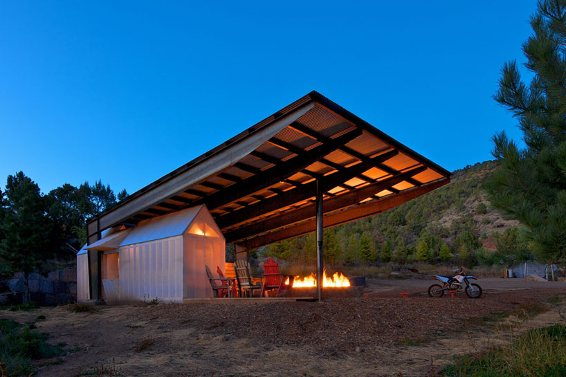 Black Shack Architects Builds A Motocross Shelter In Colorado