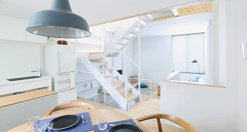 Mujis Vertical House In Tokyo Accommodates City Living
