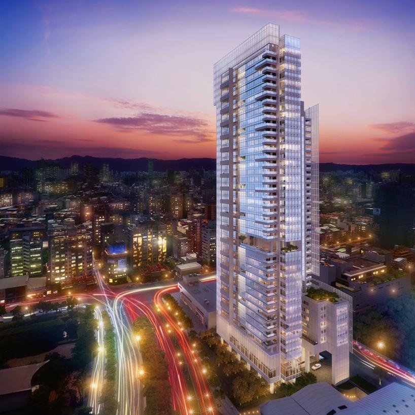 Taichung Condominium Tower Is Richard Meiers First Build