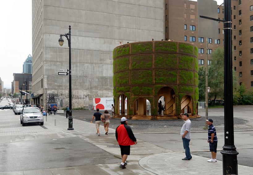 raumlabor fountain house montreal canada designboom
