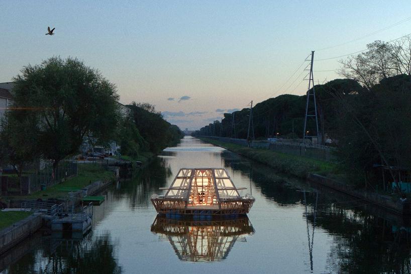 studiomobile jellyfish barge floating greenhouse designboom