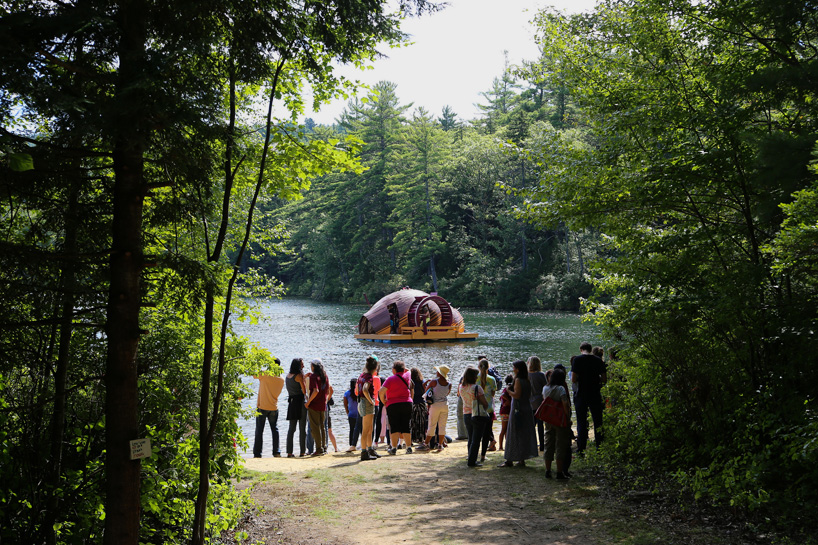 creatura project beam camp federico forestiero mark david torrens designboom