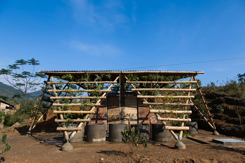H&P architects toigetation toilet block vietnam designboom