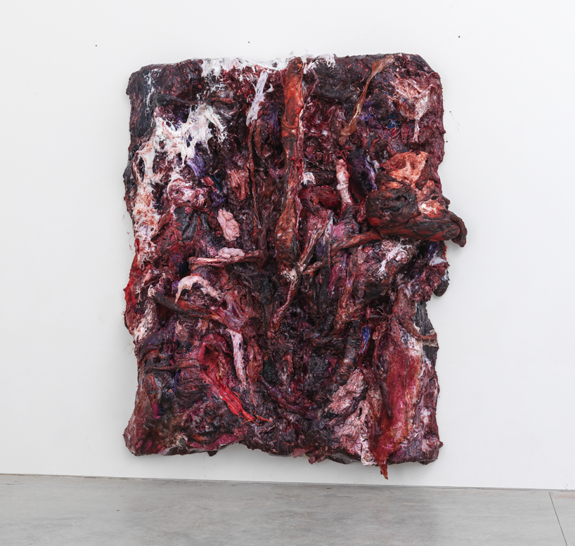 Anish Kapoor Paints Fleshy Resin Silicone Series For