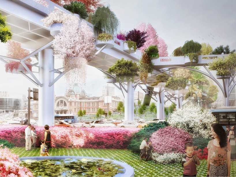 MVRDV to transform abandoned highway into the seoul skygarden