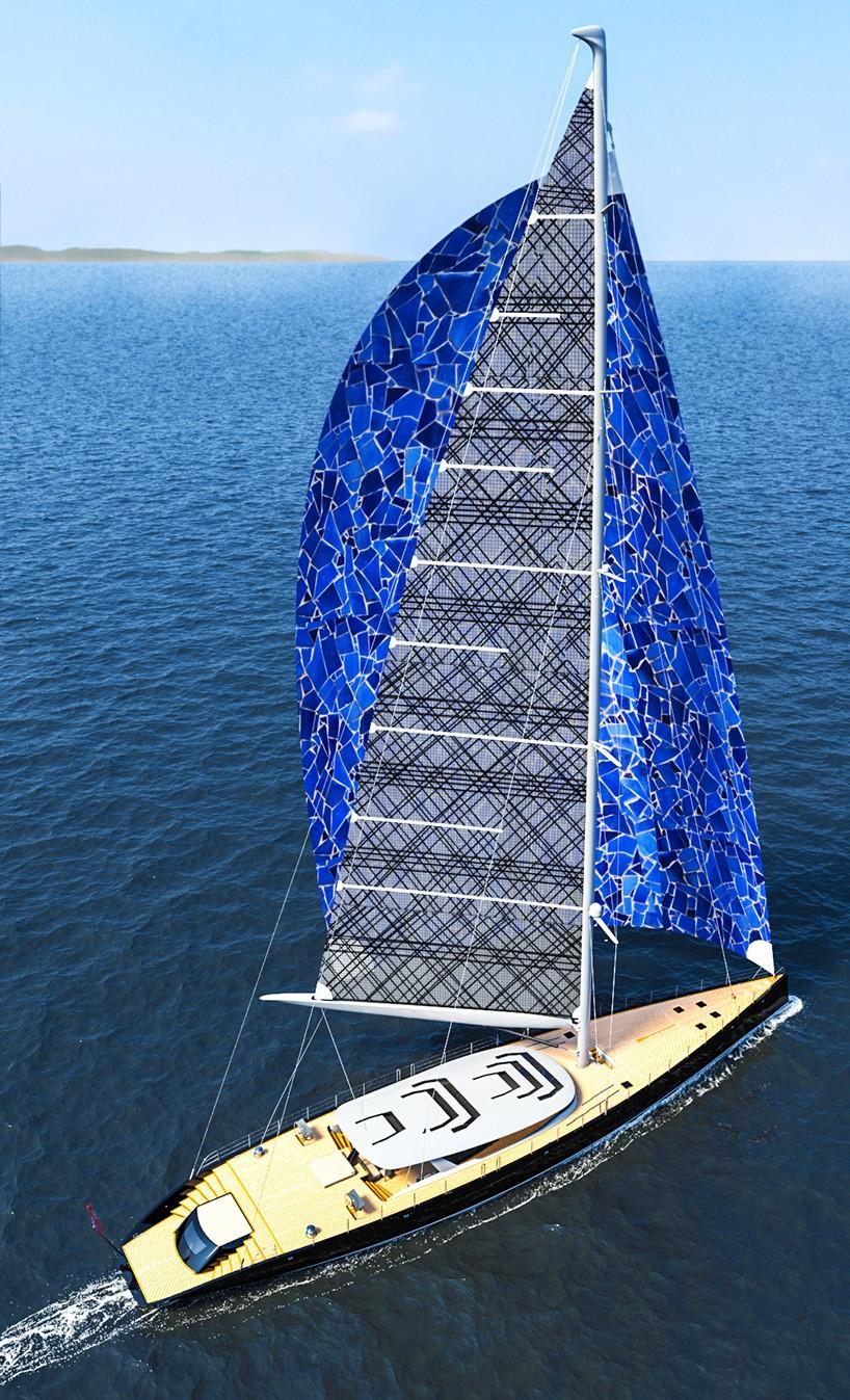 Ferrari And Franchi Create 50m Sloop Sailboat Capable Of