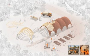 norman foster plans a droneport for delivering urgent supplies