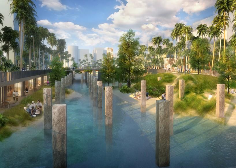 MVRDV To Build An Urban Lagoon As Part Of Tainan Axis Project