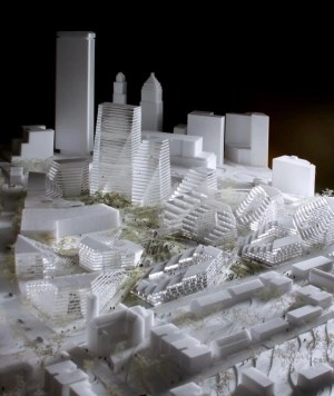 BIG to reshape pittsburgh with masterplan for lower hill
