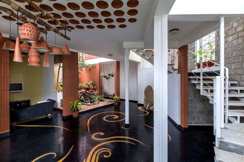 kham design builds prasanna nairs residence in bangalore