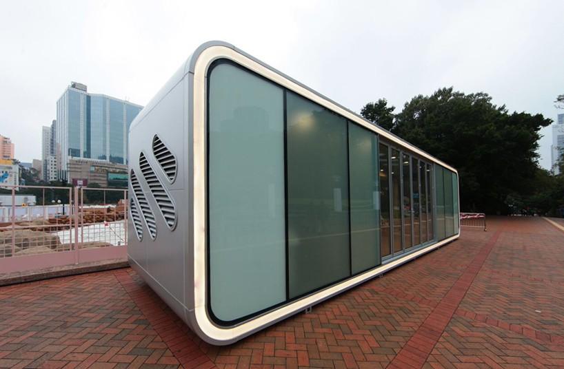 James Law Cybertecture Develops The Alpod A Mobile Home