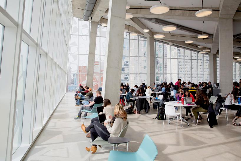 Ryerson Universitys Student Learning Centre By Snhetta