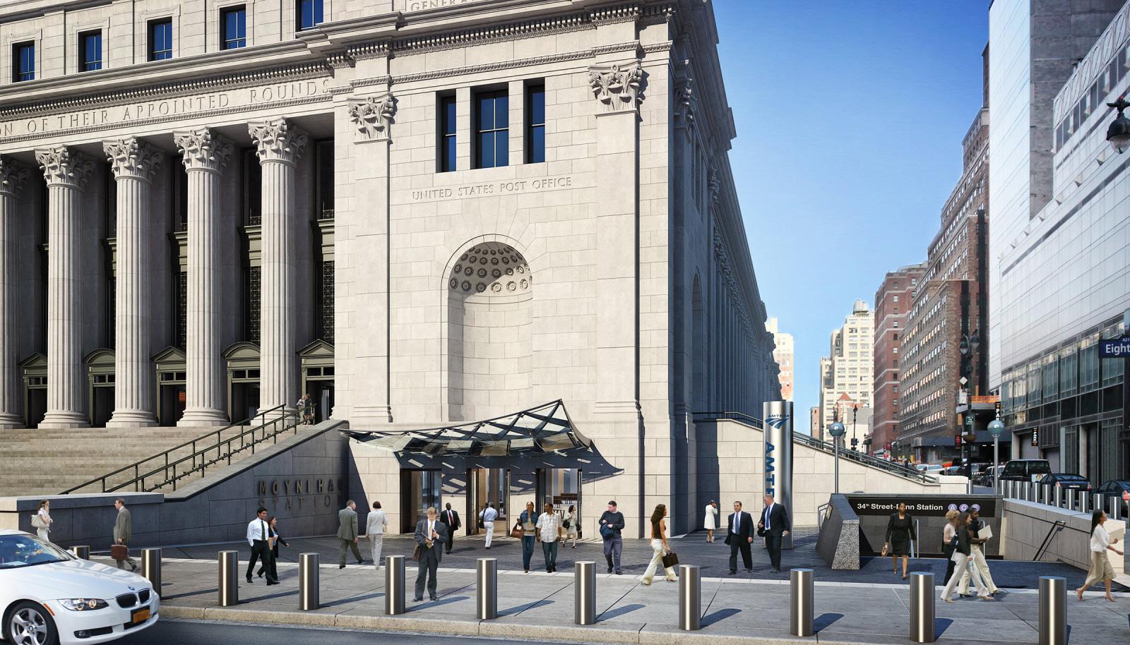 Moynihan Train Hall At New Yorks Penn Station By SOM