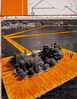 christo & jeanneclaude show an extensive overview of
