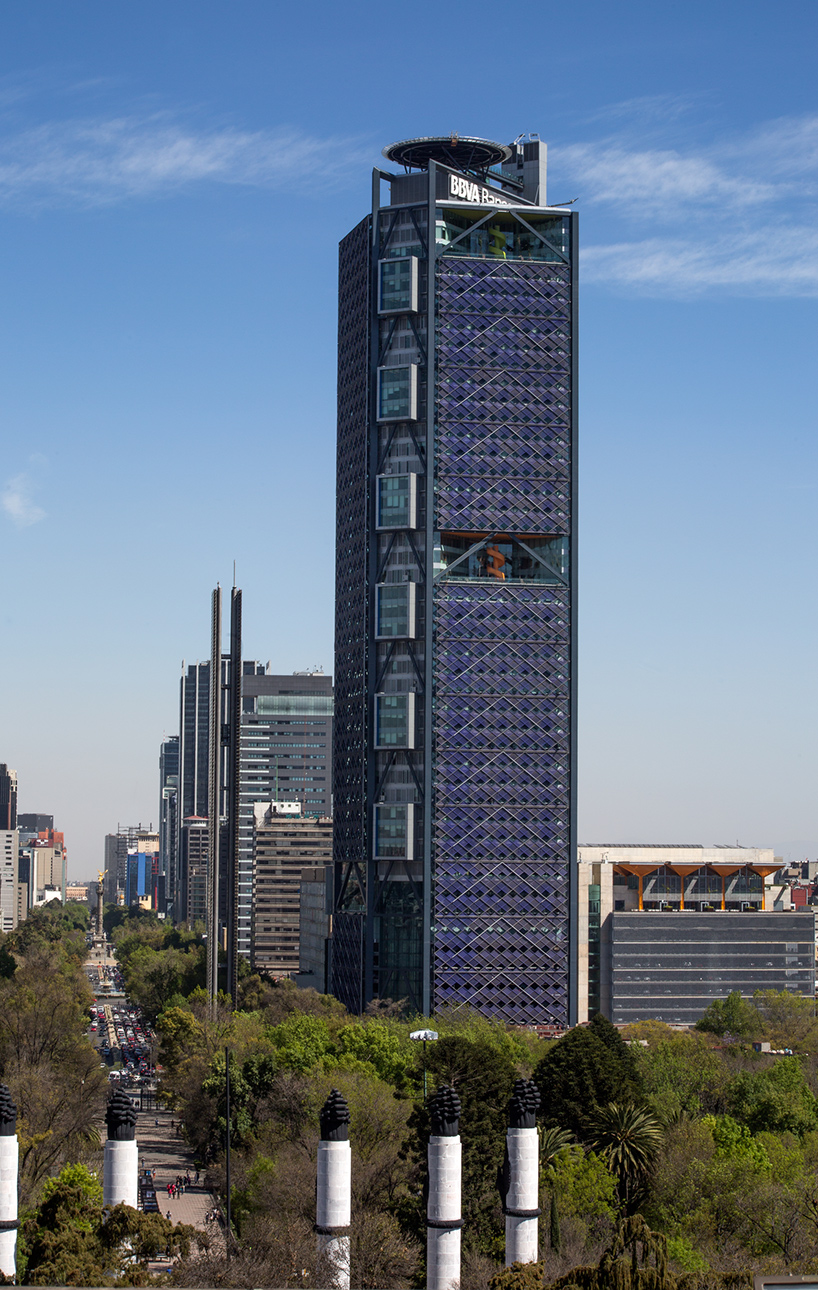 BBVA Bancomer Tower By Legorogers Opens In Mexico City