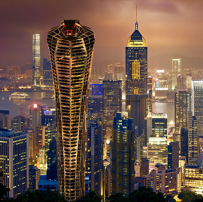 Vasily Klyukins Asian Cobra Tower Serves As A Symbol Of