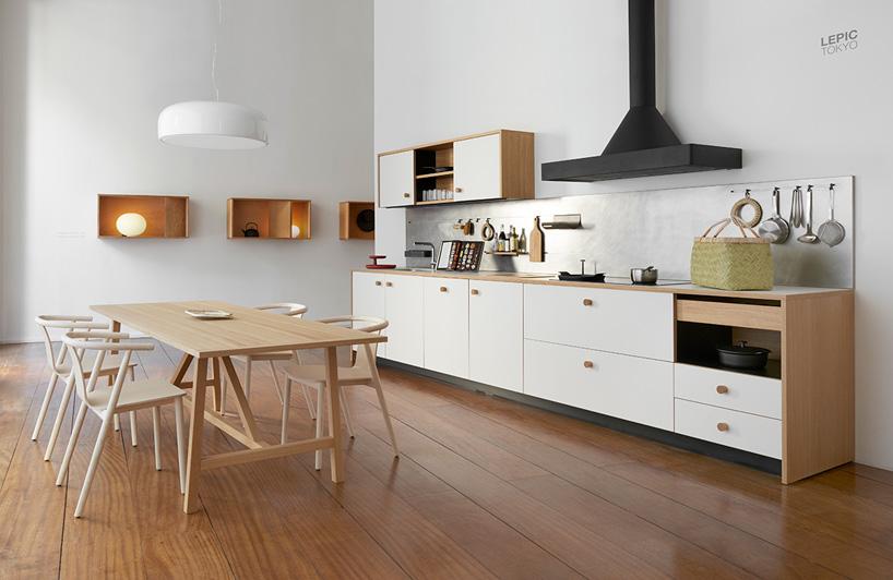 Jasper Morrison Unveils First Kitchen Design With LEPIC For Schiffini
