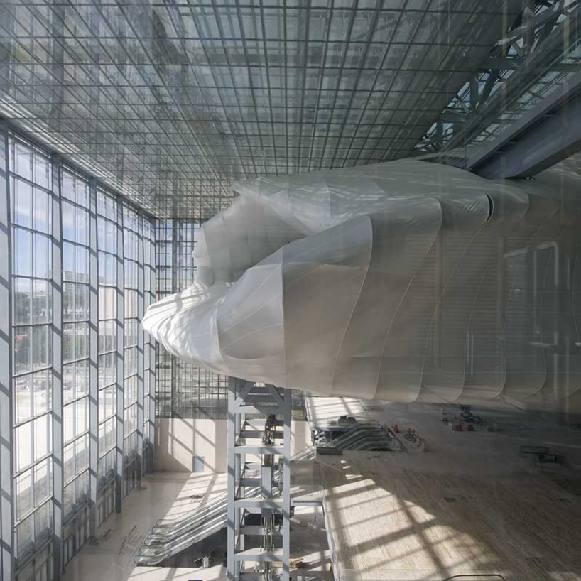 New Rome Eur Convention Center By Fuksas Nears Completion