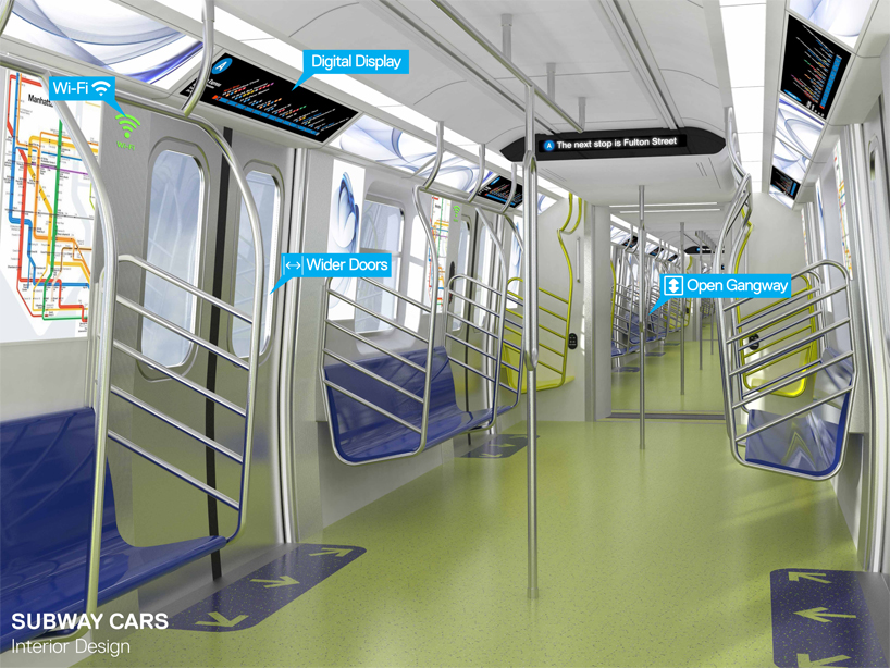 New York Subway Revamp Includes Open Car Design With Wifi