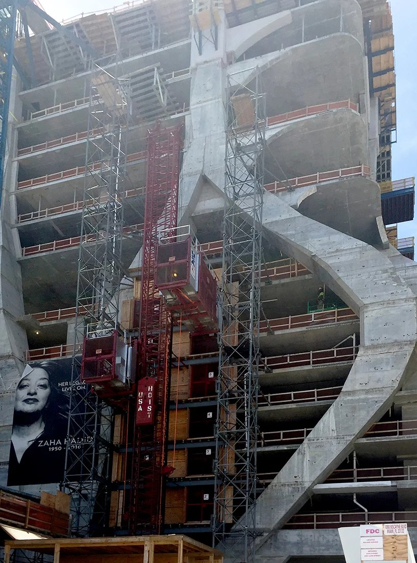 1000 Museum By Zaha Hadid Takes Shape In Miami