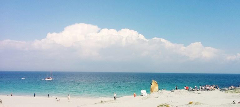 Μια σάουνα με θέα στον ωκεανό