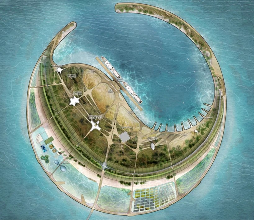Diller Scofidio Renfro Wins Chinese Eco Island Competition