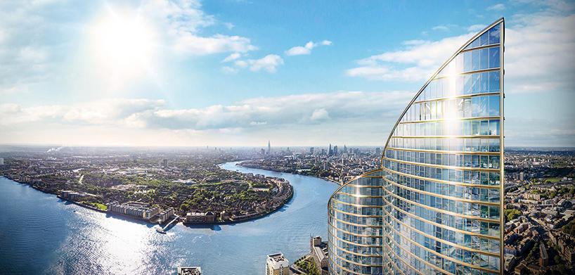 Spire London Tallest Residential Skyscraper In Western Europe