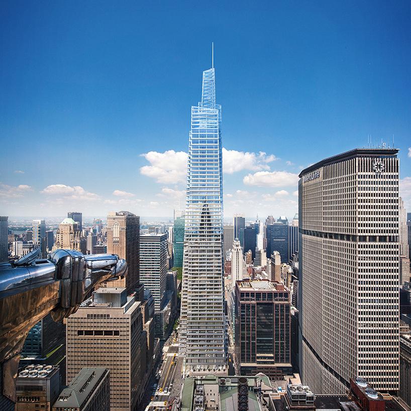 One Vanderbilt By KPF Will Be New Yorks 2nd Tallest Skyscraper