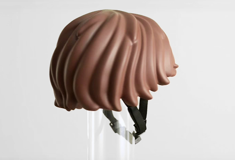 Lego Shaped Safety Gear Literally Gives You Helmet Hair