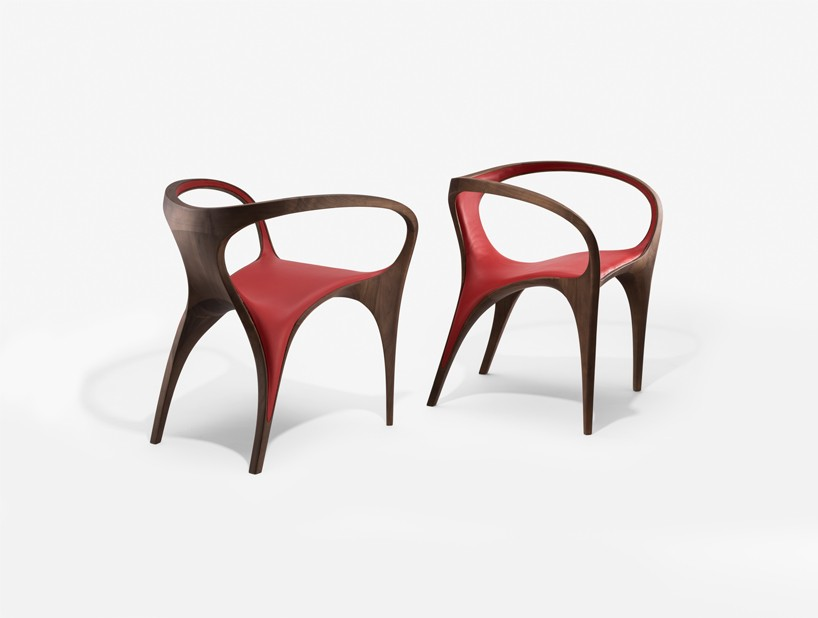 Zaha Hadid Ultrastellar Furniture Collection At David Gill Gallery