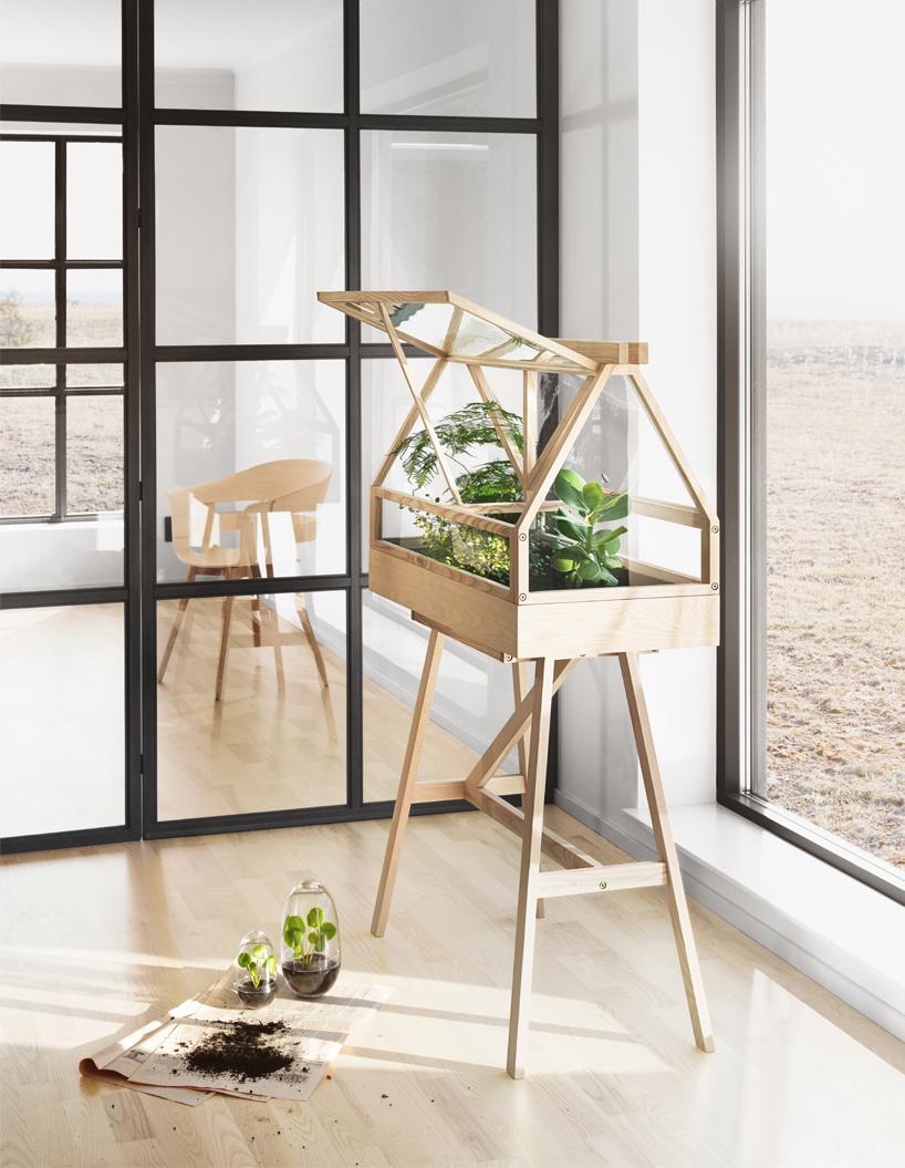 Imm Cologne 2017 Design House Stockholm Plants Greenhouse