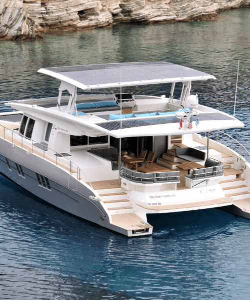Solarwave 64 Catamaran Luxury Solar Powered Yacht For Eco Friendly Adventures