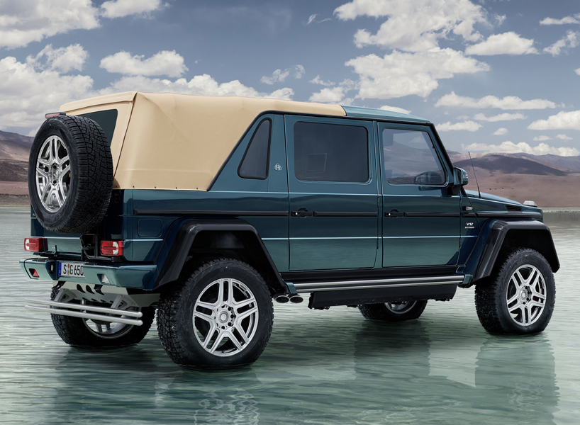 Mercedes Maybach G 650 Landaulet Luxury All Terrain Vehicle