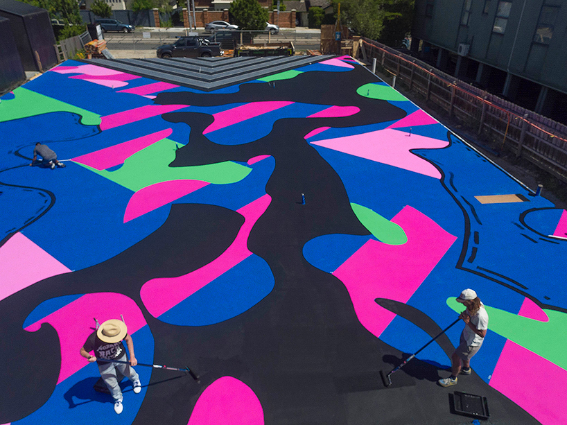 Reko Rennies Colossal Mural Canvases The Foundations Of A
