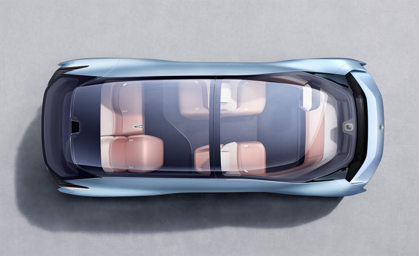 The Nio Eve Vision Self Driving Electric Concept Car