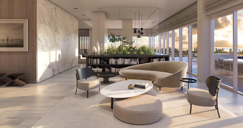 Piero Lissoni Unveils Miami Beach Penthouse Collection
