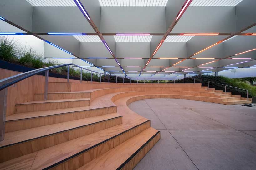 Rem Koolhaas And David Gianotten Of OMA Complete Mpavilion Melbourne