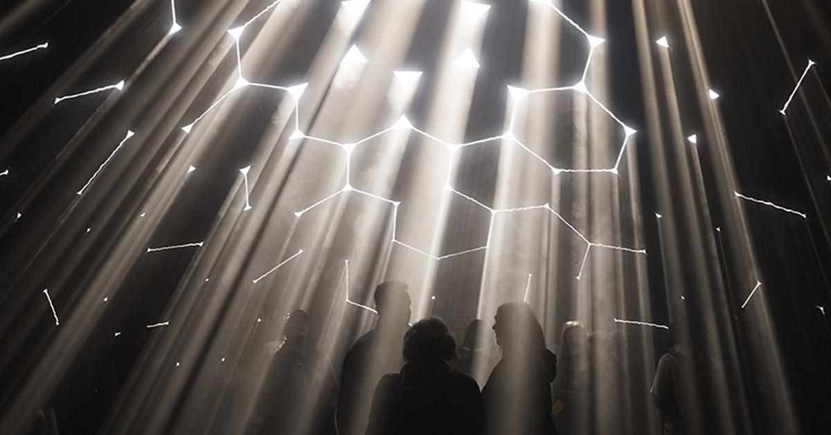 Pneuhaus Atmosphere Installation Is A Dynamic Labyrinth