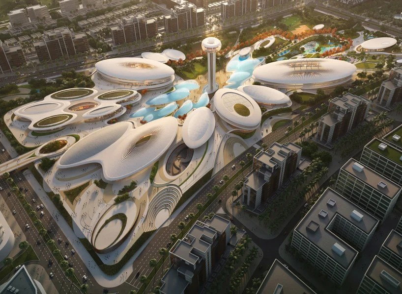 zaha hadid architects finalizes plans for major leisure and