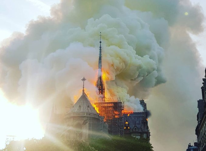 notre dame cathedral to be rebuilt following fire  here is