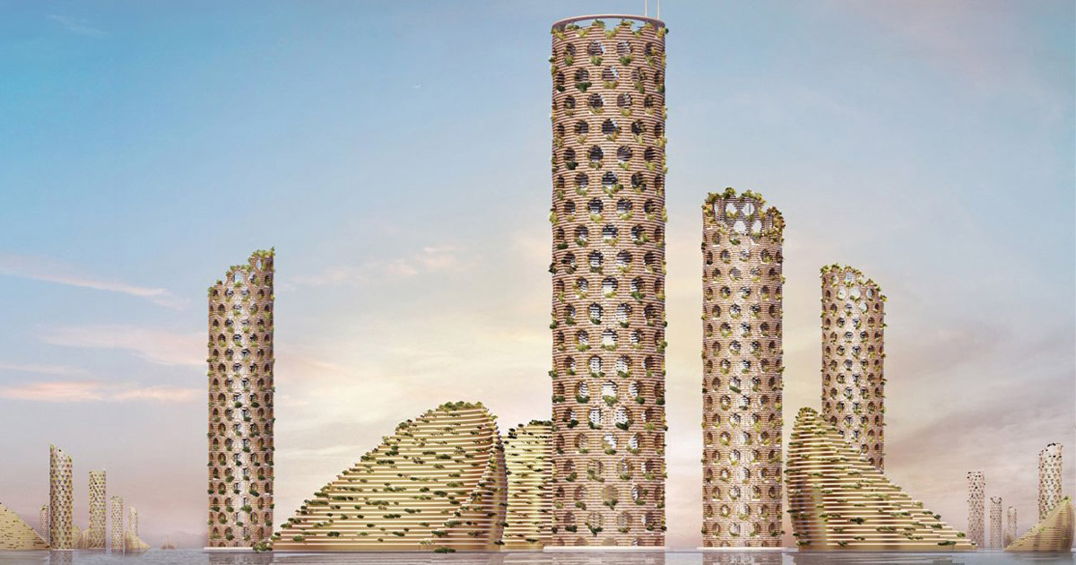 Luca Curci Architects Proposes Sustainable Vertical City