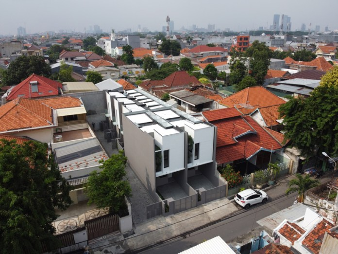 Simple Projects Architecture Designs Light Filled Micro Housing Complex In Indonesia