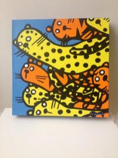 """""""Cheetah"""" original painting"""