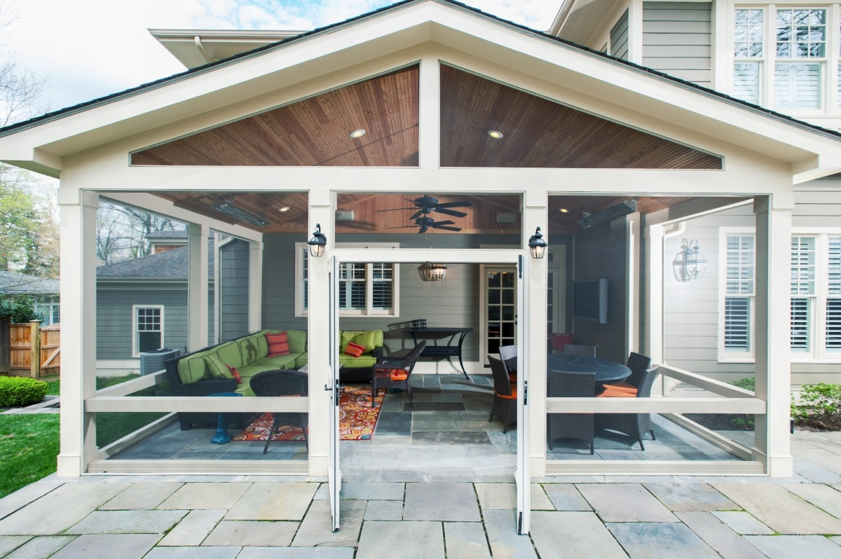 to build a screened porch